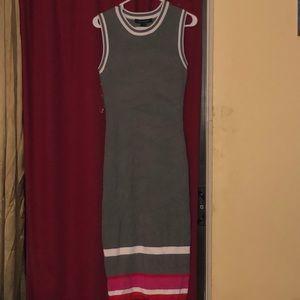 Color block tennis dress